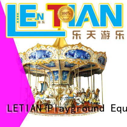durable carousel horse mall supplier theme park