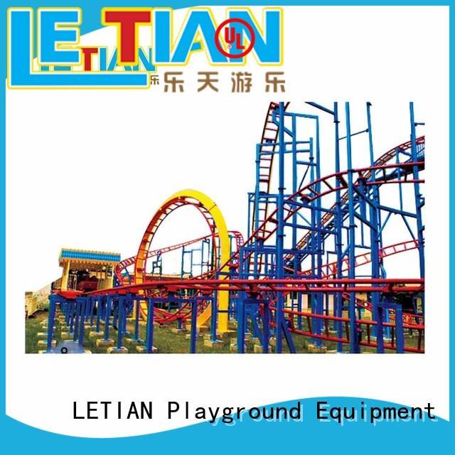 LETIAN reinforce design your own roller coaster online for children mall