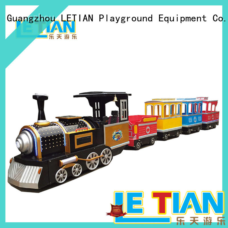 High-quality small ride on trains amusement company park playground