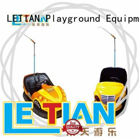 LETIAN round bumper cars amusement park manufacturer entertainment