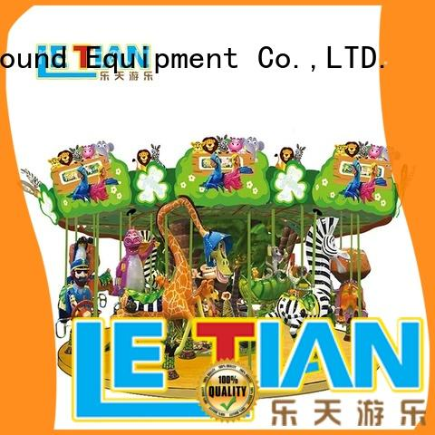 LETIAN double carousel kids supplier theme park