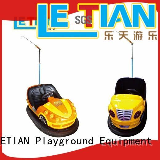 LETIAN Latest bumper car ride manufacturer amusement park