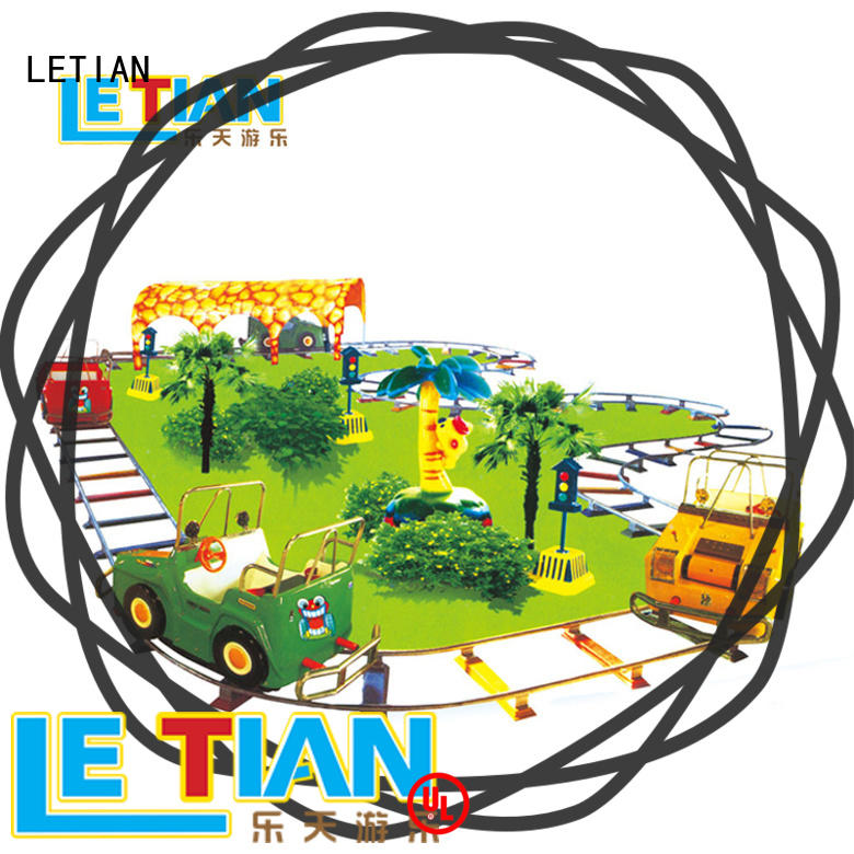 LETIAN electric theme park equipment for kids children's palace