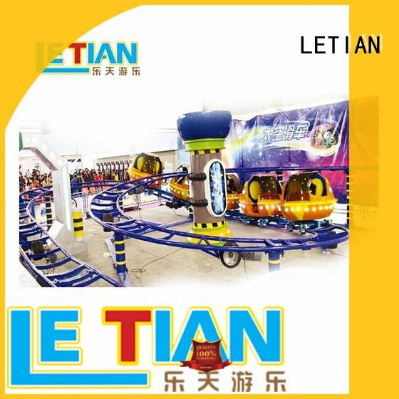rotating new roller coaster surfing for kids carnival