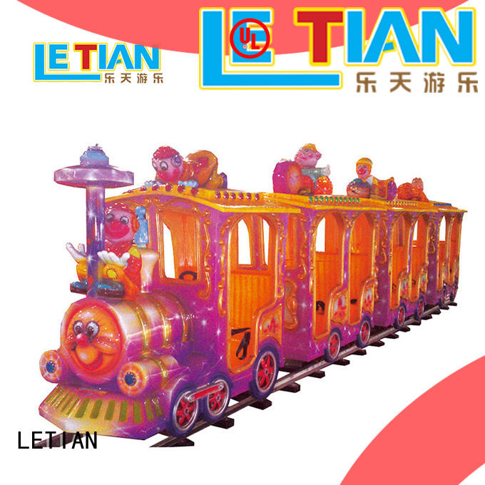 LETIAN electric theme park trains for sale China children's palace