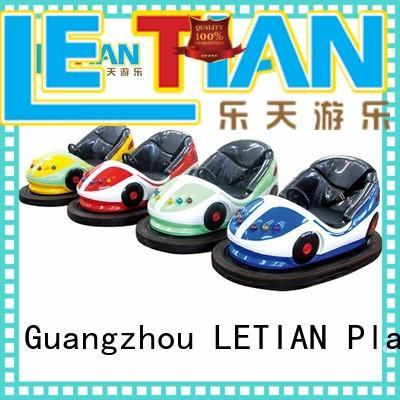 LETIAN selling bumper cars history manufacturers amusement park