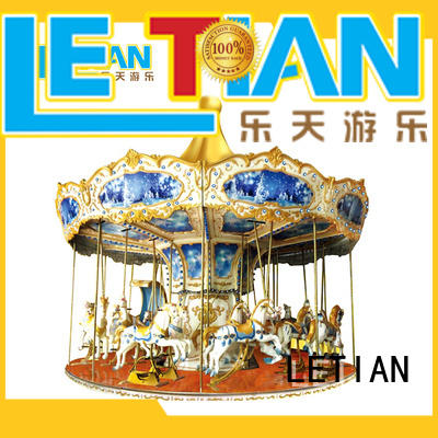 162426 amusement park rides for kids outdoor shopping centers LETIAN