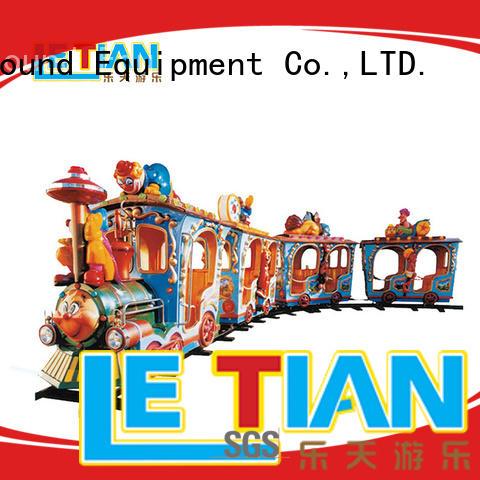 LETIAN lt7086a amusement train manufacturers children's palace