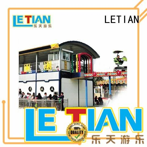 LETIAN be childrens roller coaster for kids carnival