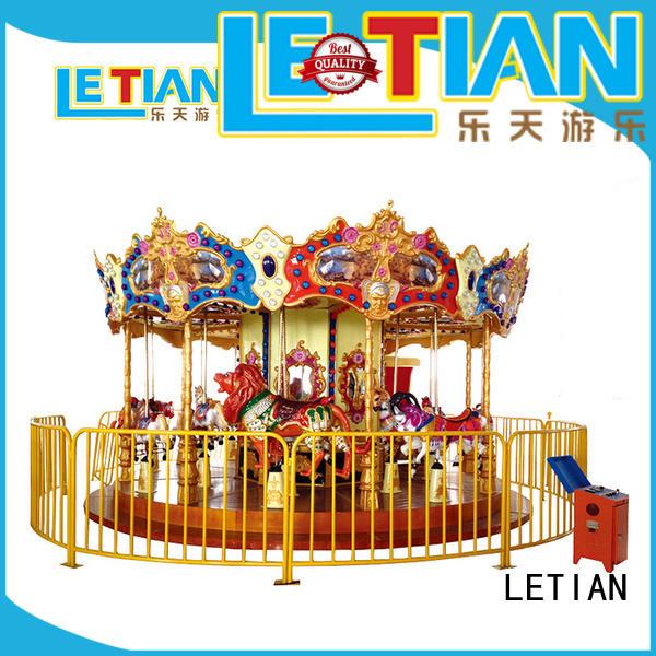 reinforced carousel for kids games design theme park