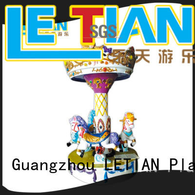 LETIAN lt7033a mini carousel ride for sale design fairground