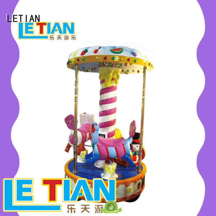 LETIAN 24 seats carousel for kids supplier fairground