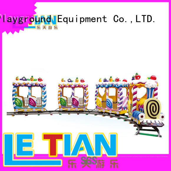 LETIAN mechanical carnival train ride for sale mall