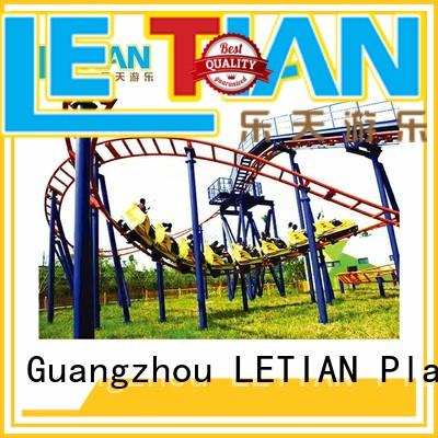 LETIAN safe the roller coaster attracts tourists mall