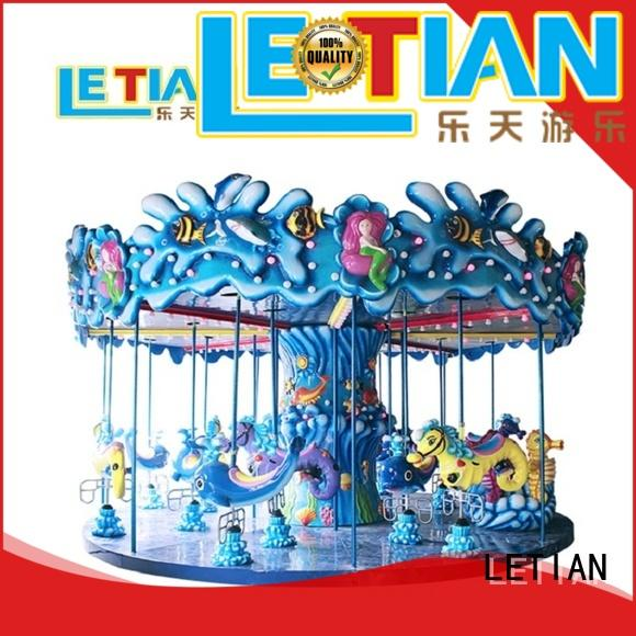 LETIAN made mini carousel ride for sale for business fairground