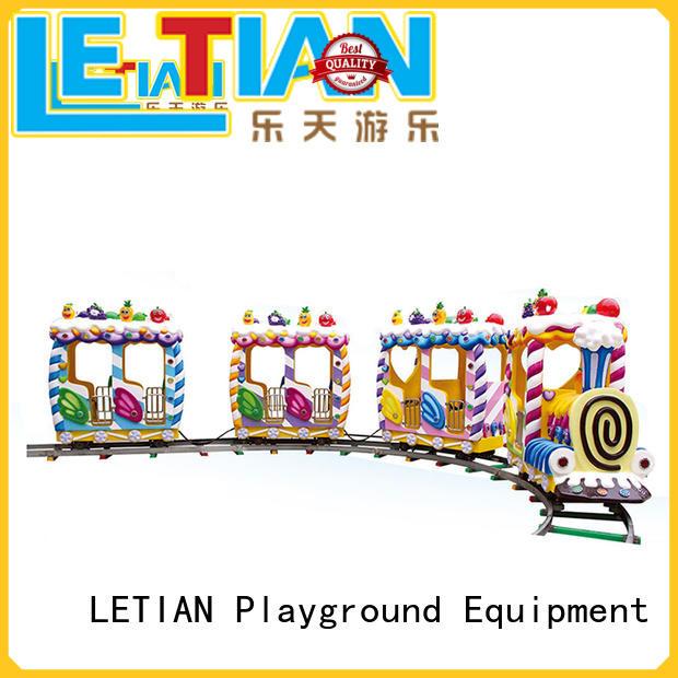 LETIAN pirate amusement park train rides manufacturer life squares