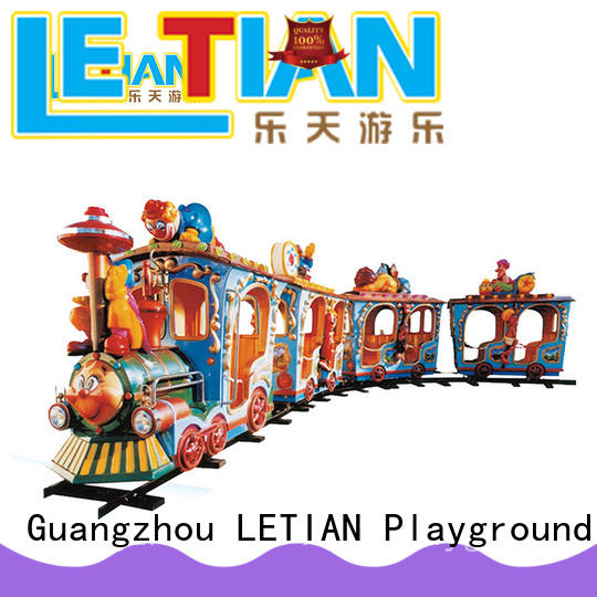 theme park train jungle life squares LETIAN