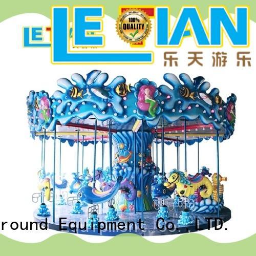 LETIAN lt7040a christmas carousel for sale supplier theme park