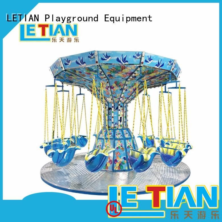 LETIAN 38m flying swing customized zoo