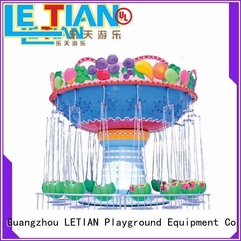 LETIAN DIY chair swing ride design amusement park