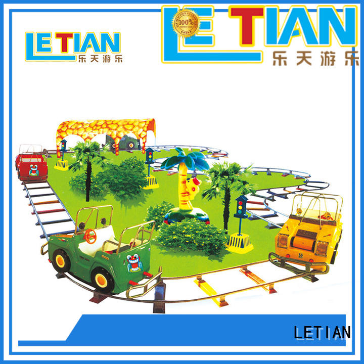 LETIAN mechanical amusement park train manufacturers for kids mall