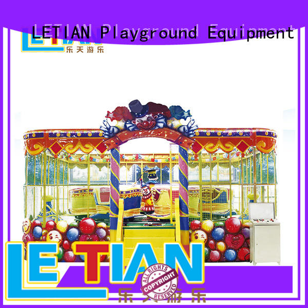 LETIAN deluxe trackless train ride for sale park playground