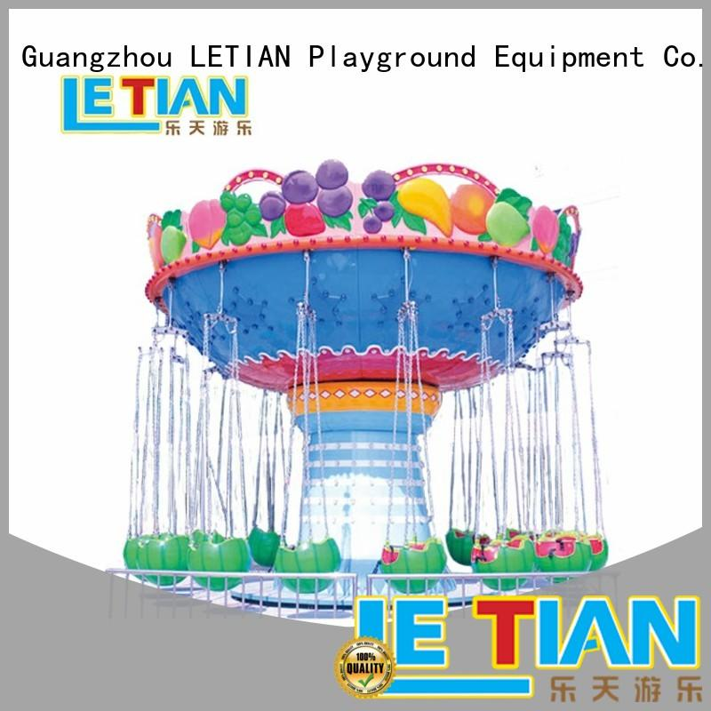 mini amusement park swing ride carousel fairground