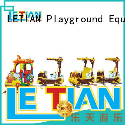 LETIAN tourist train theme park factory life squares