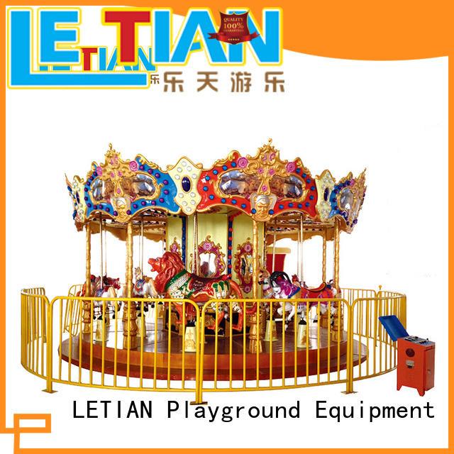 LETIAN quality mini carousel company carnival