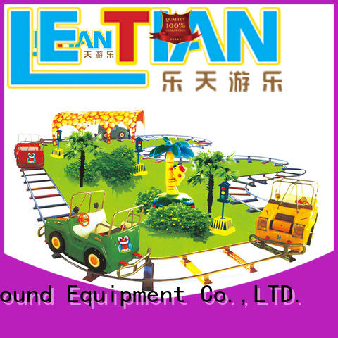 Kids electric FRP chasing train for sale LT-7083A