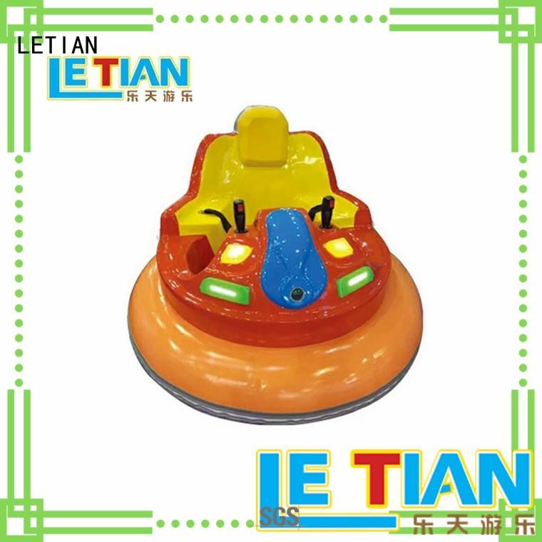 LETIAN boat bumper car for kids amusement park