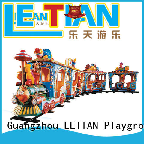 LETIAN orbit amusement train for sale park playground