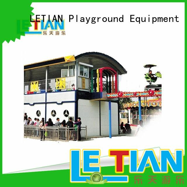 LETIAN rides roller coaster details factory playground