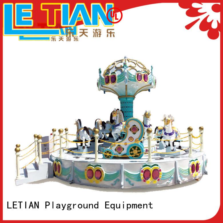 LETIAN 162426 carousel horse for kids carnival