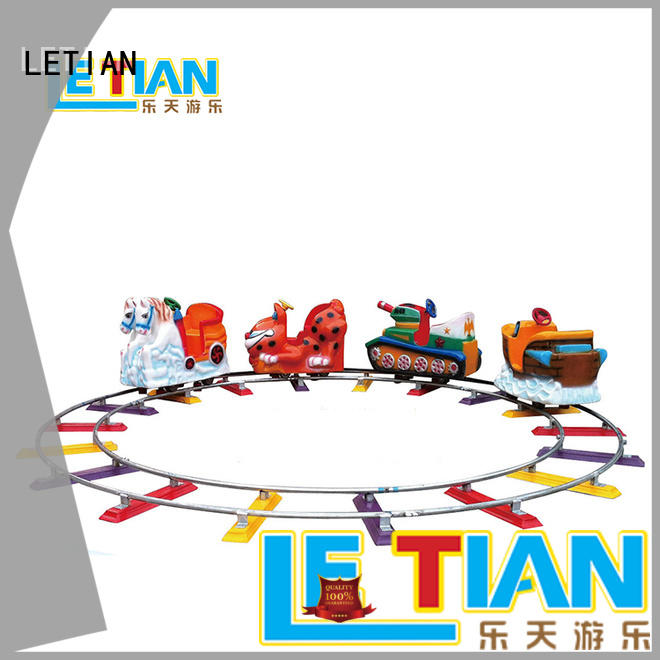 LETIAN Custom trackless train manufacturers park playground