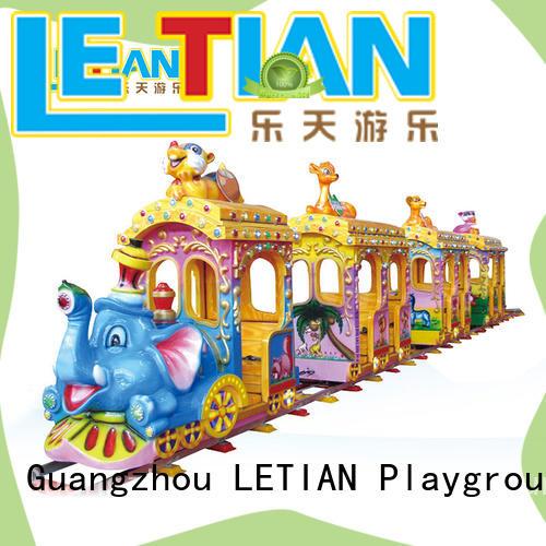 mechanical train amusement park lt7079a for kids mall