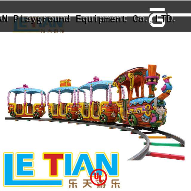 LETIAN park train amusement park for sale children's palace
