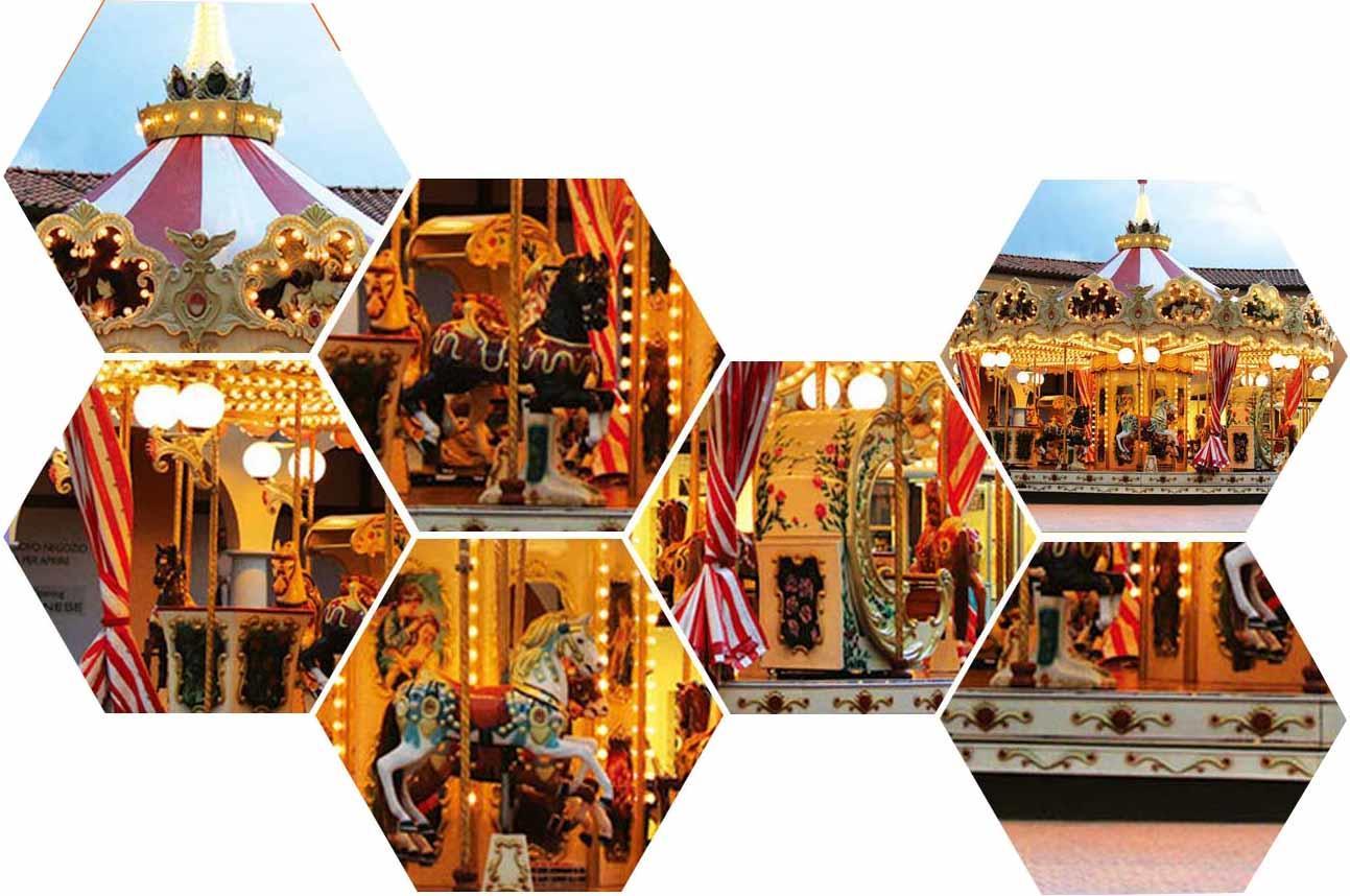 18 carousel child customized theme park LETIAN-2