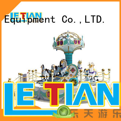 LETIAN seats childrens carousel shopping centers