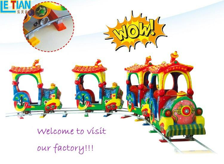 LETIAN indoor theme park train mall-3