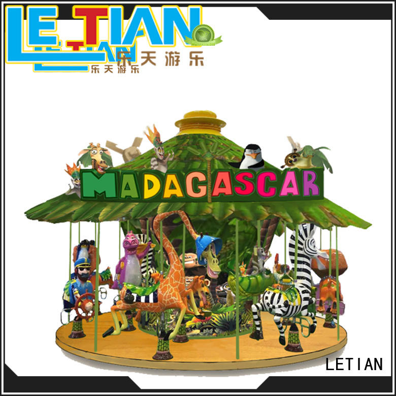 LETIAN lt7034a carousel ride design fairground