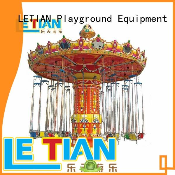LETIAN Latest chair swing ride customized theme park