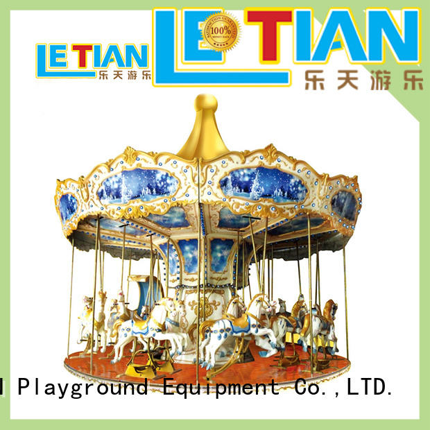 LETIAN 24 seats carousel for sale design theme park
