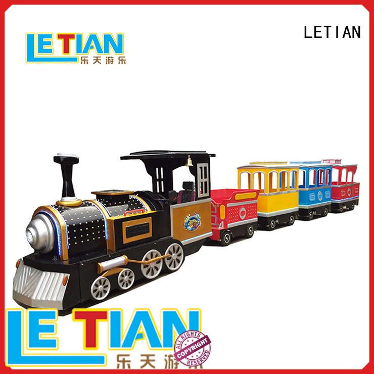 amusement park train rides lt7083b children's palace LETIAN