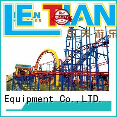 LETIAN kids design your own roller coaster online factory theme park
