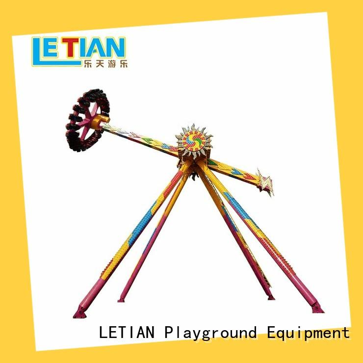 LETIAN clock fun park rides for kids mall
