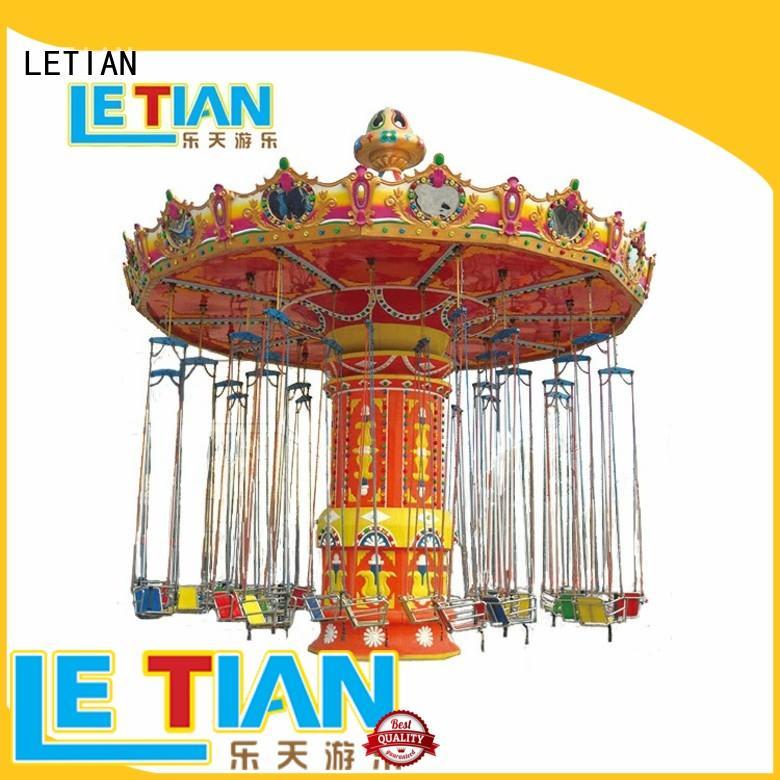LETIAN ride carnival swing ride manufacturer fairground