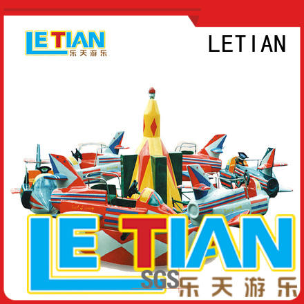 LETIAN High-quality disco rides for business playground