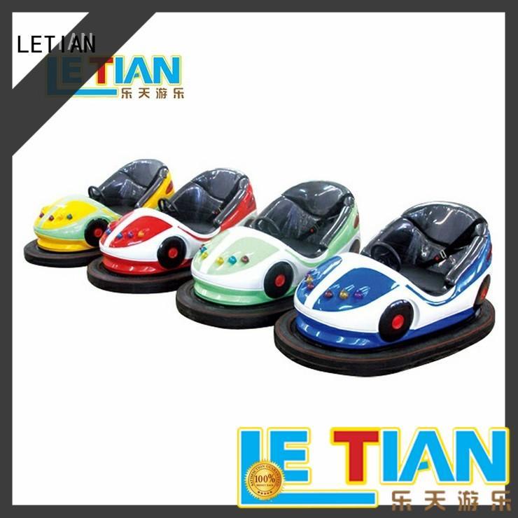 LETIAN family bumper car games manufacturers entertainment